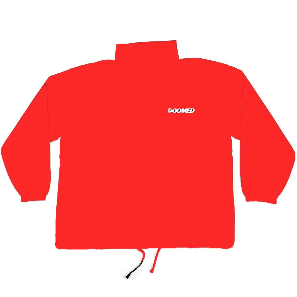 Doomed Windbreaker Jacket - Red