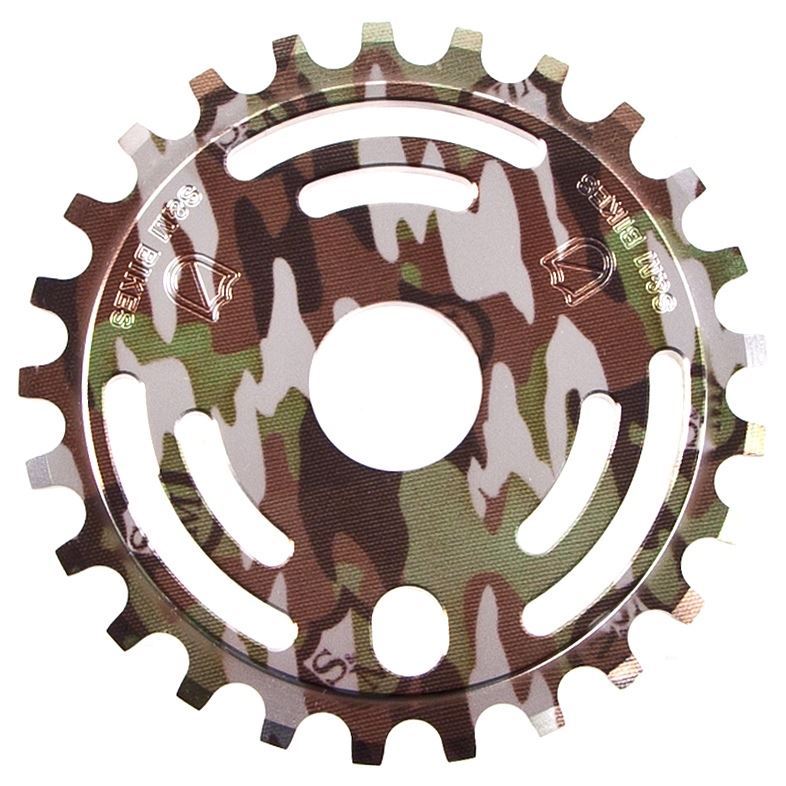 S&M Drain Man Sprocket - Camo Shield Wrap