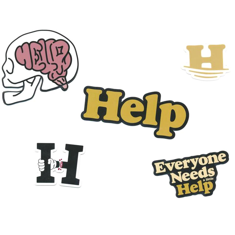 Help Sticker Pack