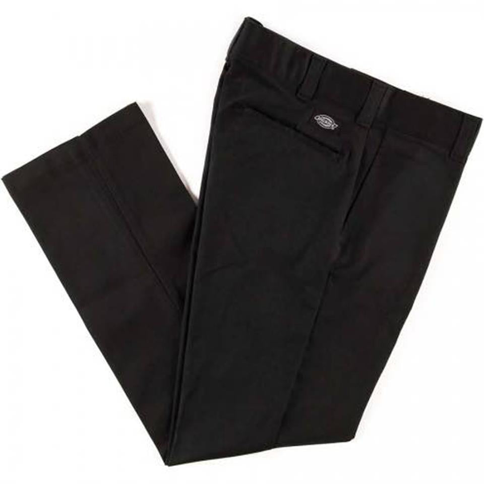 Dickies Slim Straight Leg Work Pant - Black