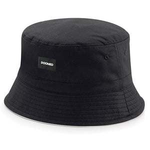 Doomed Mrs. Bucket Hat - Black Black