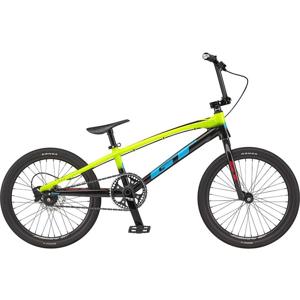 GT Speed Series Pro XL BMX Race Bike 2021 - Nuclear Yellow | BMX bike