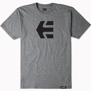 Etnies Icon T-Shirt - Grey/Heather