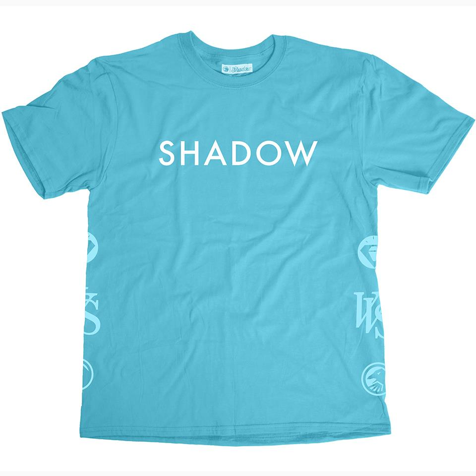 Shadow VVS Short Sleeve T-Shirt - Pool Blue