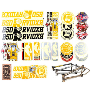 BSD RAIDER FRAME STICKER set 2020