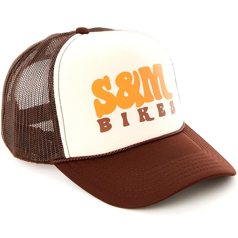 S&M Keep On Trucking Hat - Brown/Tan/Brown