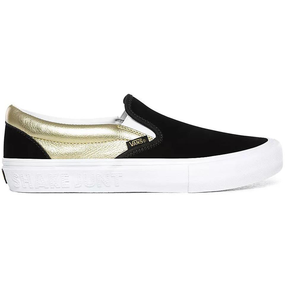 Vans X Shake Junt Slip On Pro - Black/Gold