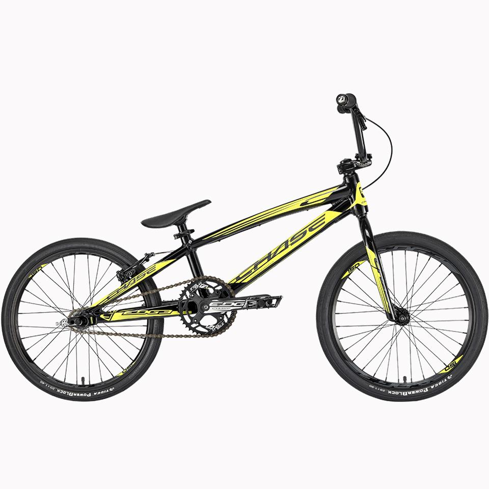 Chase Edge Pro 2020 BMX Race Bike/ Black/Neon Yellow