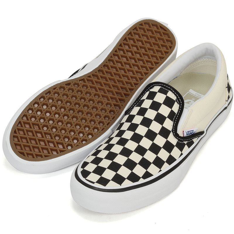 Vans Slip-On Pro Checkerboard Black/White