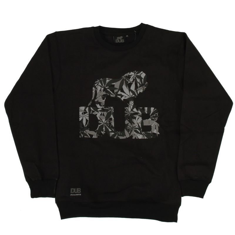 Dub Cannaflage Logo Sweat - Black | Jerseys