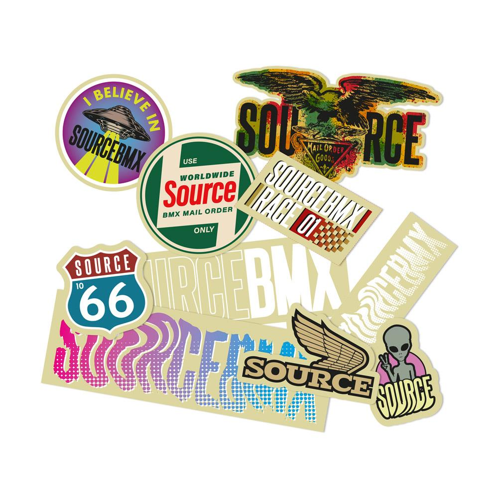 Source Premium Sticker Pack