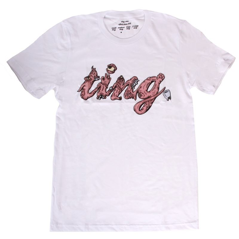 The Ting Flesh Tee - White | Jerseys