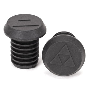 Jet BMX Plastic Bar Ends Black