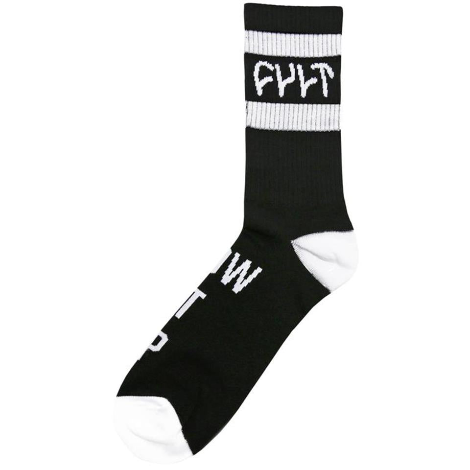 Cult Burn It Down Socks - Black