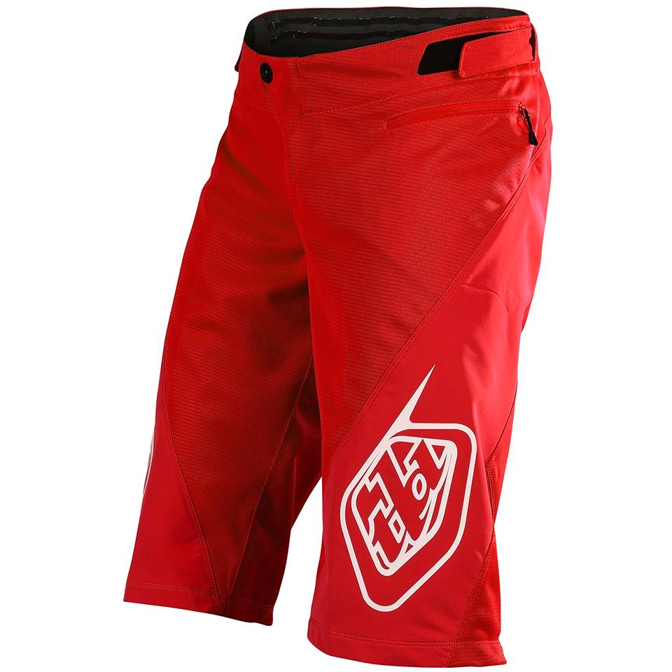 Troy Lee V2 Sprint Race Shorts - Red