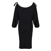 Load image into Gallery viewer, Sexy Off Shoulder Slit Bodycon Dress