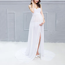 Load image into Gallery viewer, Maternity Graceful Strapless Maxi Dress