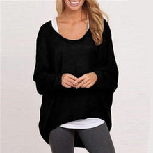 Load image into Gallery viewer, Casual Asymmetrical Long Sleeve Pullover