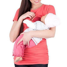 Load image into Gallery viewer, Maternity Multifunctional Nursing & Feeding T-Shirt