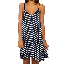 Load image into Gallery viewer, Stripe V-Neck Cami Dress
