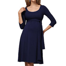Load image into Gallery viewer, Maternity Multifunctional Nursing Short Dress