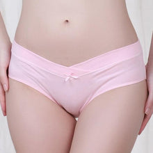 Load image into Gallery viewer, Maternity Low Waist Abdomen Supportive Underwear