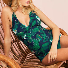 Load image into Gallery viewer, Maternity Print 2-Piece Tankini