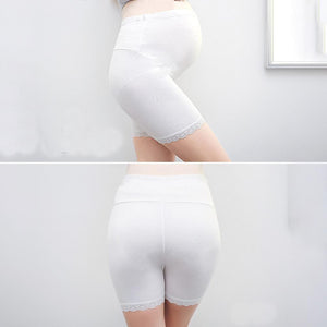 Maternity Adjustable Lace Hem Abdomen Supportive Underwear