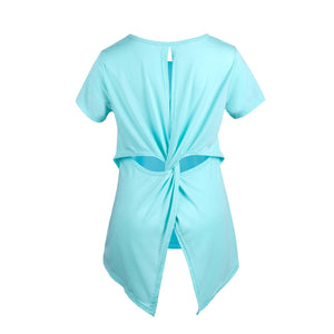 Maternity Twist Knot Back T-Shirt