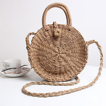 Load image into Gallery viewer, 🔥2018 Must Have Round Beach Shoulder Bag