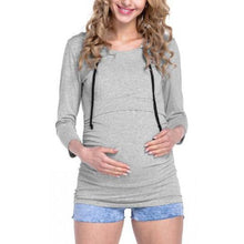 Load image into Gallery viewer, Maternity Feeding & Nursing Sweater