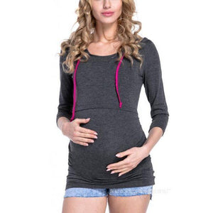 Maternity Feeding & Nursing Sweater