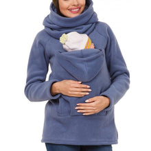 Load image into Gallery viewer, Multi-Function Kangaroo Sweater Parenting Bag Hoodie