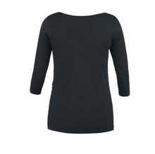 Load image into Gallery viewer, Maternity Round Neck  Print Long Sleeve Tee Top