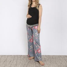 Load image into Gallery viewer, Maternity Frenulum Broad Leg Women Trousers