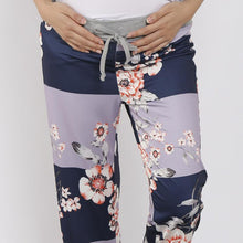 Load image into Gallery viewer, Maternity High Waist Frenulum Broad Leg Trousers
