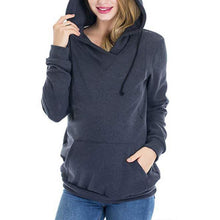 Load image into Gallery viewer, Maternity Multifunctional  Nursing Hoodie