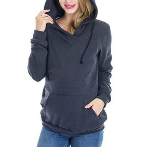 Maternity Multifunctional  Nursing Hoodie