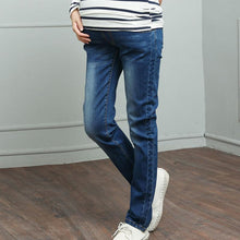 Load image into Gallery viewer, Maternity Straight Tube Casual Jeans