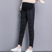 Load image into Gallery viewer, Maternity Lattice Adjustable Casual Haren Pants
