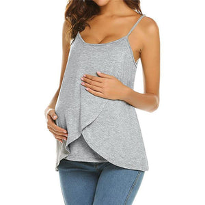Maternity Casual Sling Strap Breast-Feeding Vest