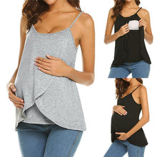 Load image into Gallery viewer, Maternity Casual Sling Strap Breast-Feeding Vest