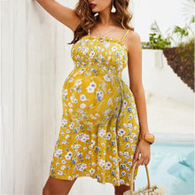 Load image into Gallery viewer, Maternity Strapless Printing Printing Casual Skirt