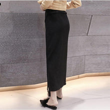 Load image into Gallery viewer, Maternity High Waist Lift Belly Casual Skirt