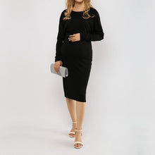 Load image into Gallery viewer, One Shoulder  Plain Plus Size Bodycon Dress