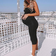 Load image into Gallery viewer, Maternity Solid Color Cami Dress