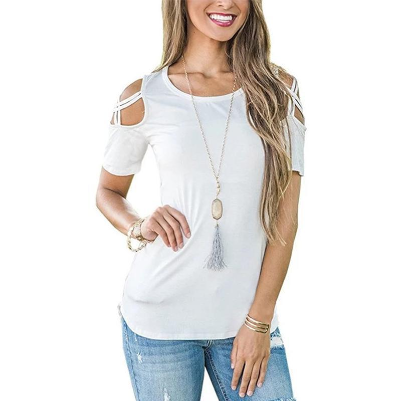 Maternity Off-The-Shoulder T-Shirt