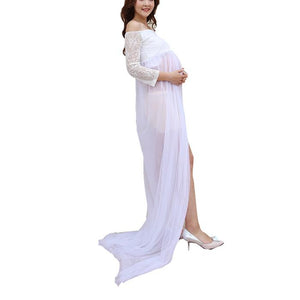 Pregnant Woman Photo Studio Photo Dress