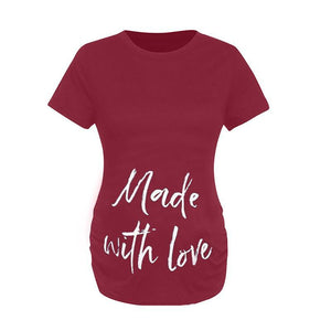 Maternity Letter Short Sleeve T-Shirt