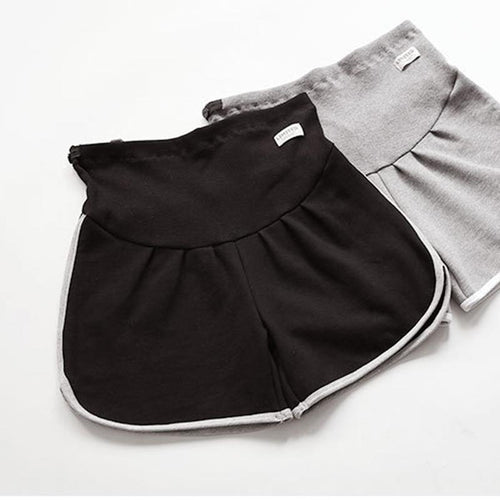 Maternity Plain Sports Shorts